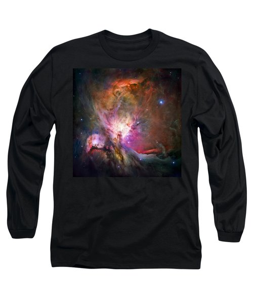 Hubble's Sharpest View Of The Orion Nebula Long Sleeve T-Shirt