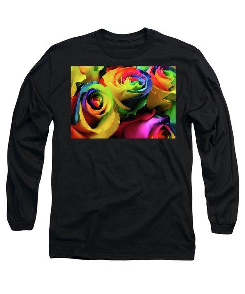 Hue Heaven Long Sleeve T-Shirt by JAMART Photography