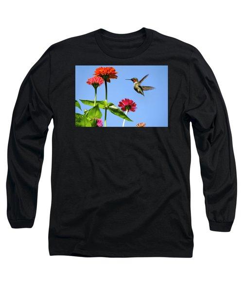 Hummingbird Happiness Long Sleeve T-Shirt