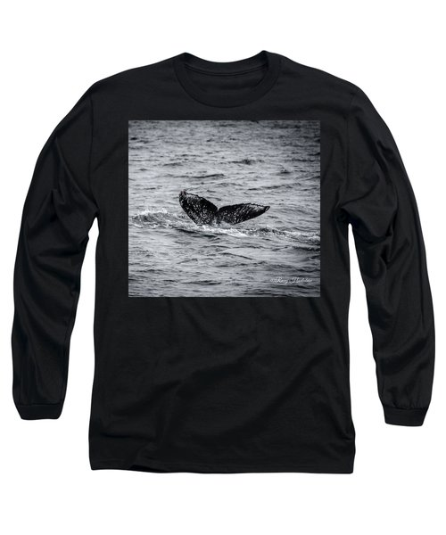 Humpback Whale Tail Long Sleeve T-Shirt