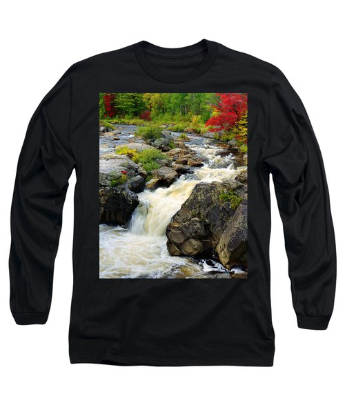 Hungary Trout Falls Long Sleeve T-Shirt