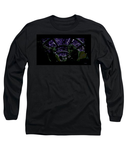 Hyper Space Long Sleeve T-Shirt by George Pedro