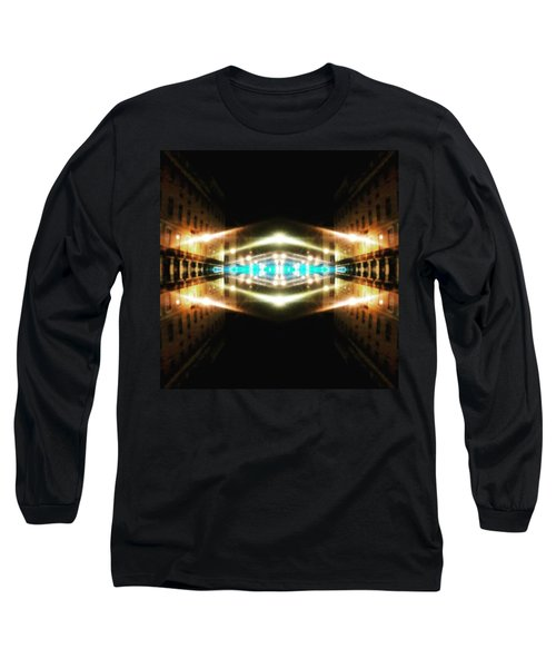 Hypergate To Lisbon Long Sleeve T-Shirt by Jorge Ferreira