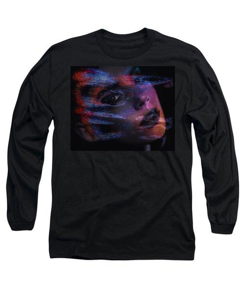 I Breathe Art Therefore I Am Art Long Sleeve T-Shirt