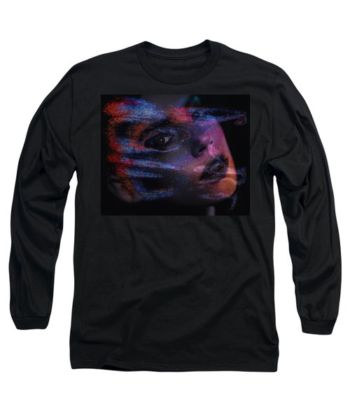 I Breathe Art Therefore I Am Art Long Sleeve T-Shirt