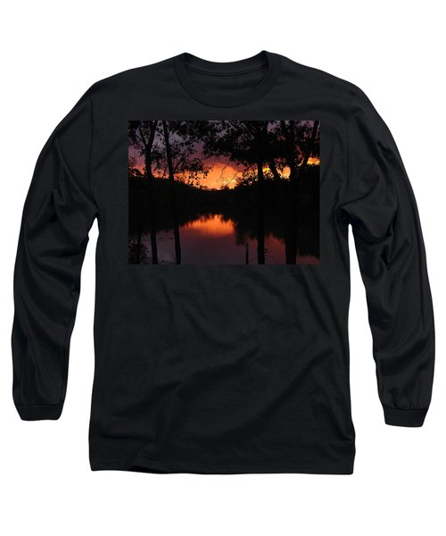 I Found Red October Long Sleeve T-Shirt by J R Seymour