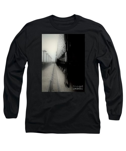 I Hear That Lonesome Whistle Blow Long Sleeve T-Shirt by RC deWinter