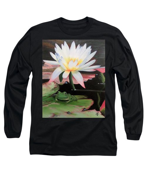I See A Little Frog Long Sleeve T-Shirt