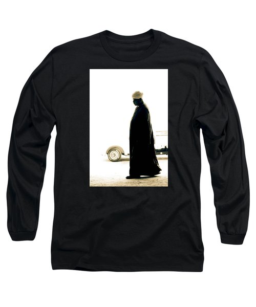 Long Sleeve T-Shirt featuring the photograph I Try To Be Positive  by Jez C Self