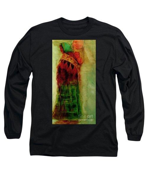 I Walk Long Sleeve T-Shirt by FeatherStone Studio Julie A Miller