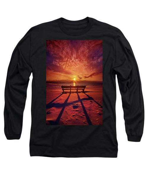 I Will Always Be With You Long Sleeve T-Shirt by Phil Koch