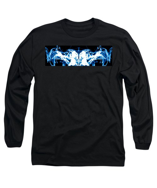 Ice Blue Long Sleeve T-Shirt
