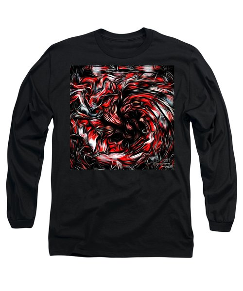 Ice Breaker Red Long Sleeve T-Shirt