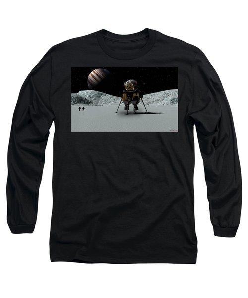 Icefield Landing Long Sleeve T-Shirt by David Robinson