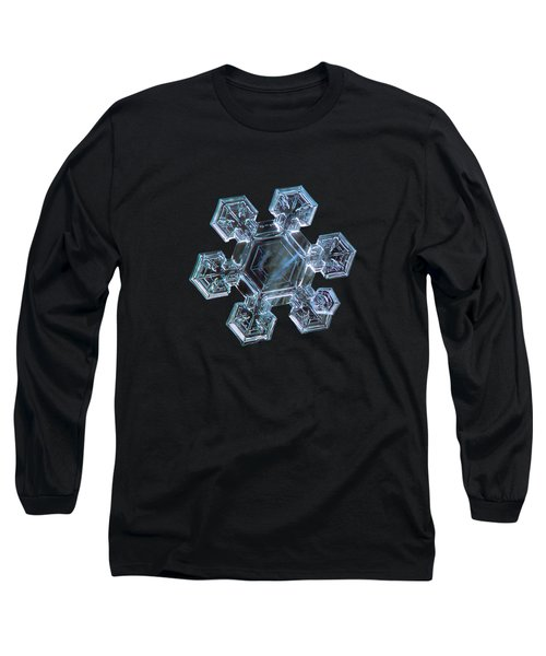 Icy Jewel, Panoramic Version Long Sleeve T-Shirt