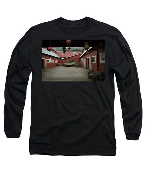 Icy Strait Point Cannery Museum Long Sleeve T-Shirt