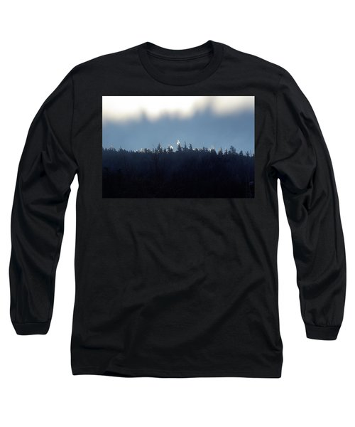 Icy Sunrise Long Sleeve T-Shirt