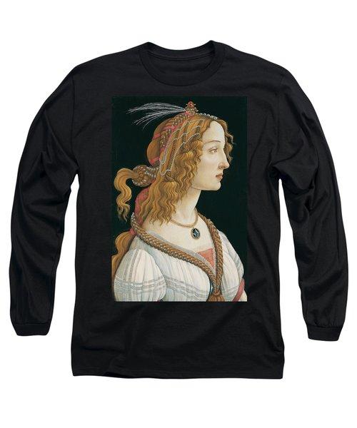 Idealized Portrait Of A Lady Long Sleeve T-Shirt