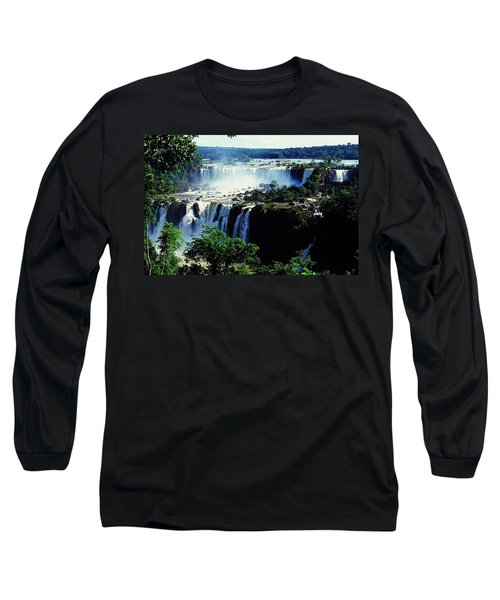 Iguacu Waterfalls Long Sleeve T-Shirt