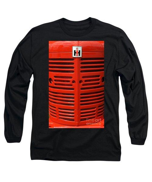 Ih Front Long Sleeve T-Shirt by Meagan  Visser