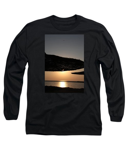 Long Sleeve T-Shirt featuring the photograph I'll Miss You by Jez C Self