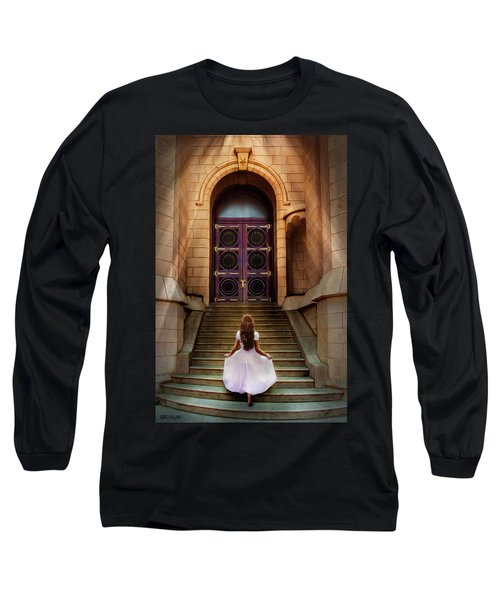 I'm Going There Some Day Long Sleeve T-Shirt by Greg Collins