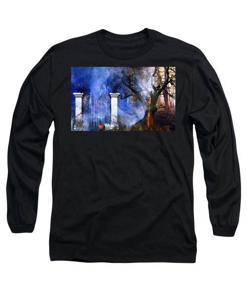 I'm Watching You Long Sleeve T-Shirt by Gabriella Weninger - David