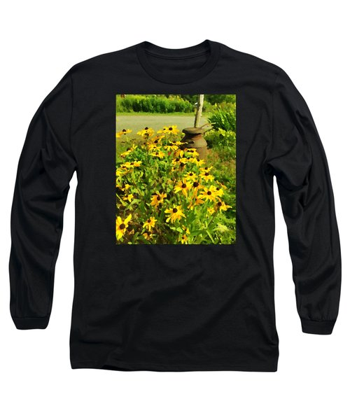 Impressions Of A Country Garden Long Sleeve T-Shirt