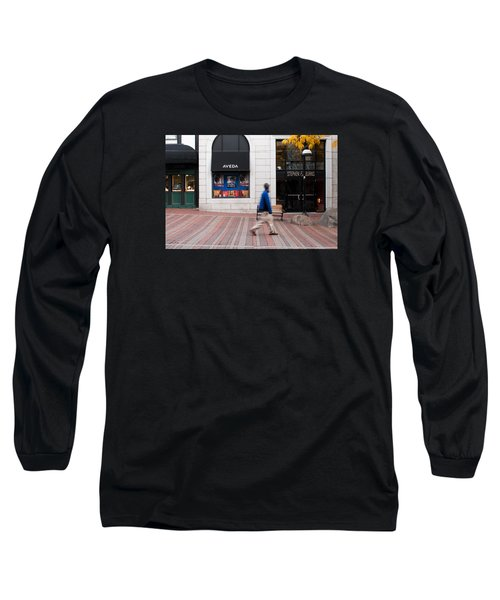 Long Sleeve T-Shirt featuring the photograph In A Hurry by Monte Stevens