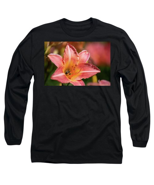 Long Sleeve T-Shirt featuring the photograph In A Lily 1 by Brian Hale
