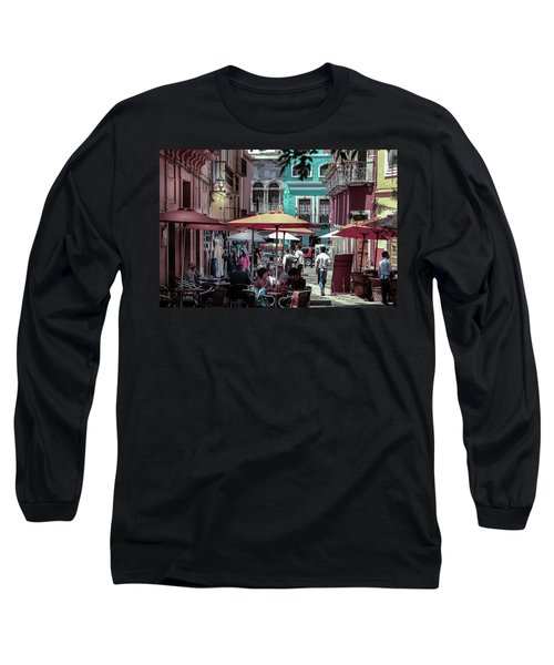 In A Little Spanish Town Long Sleeve T-Shirt