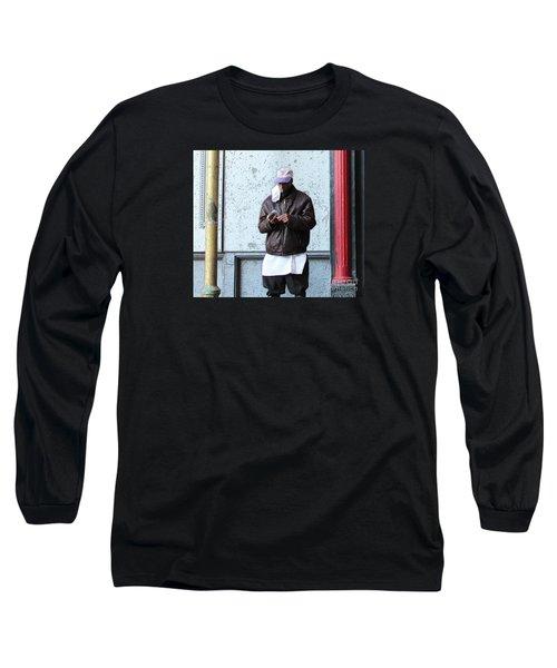 Long Sleeve T-Shirt featuring the photograph In Between by Joe Jake Pratt