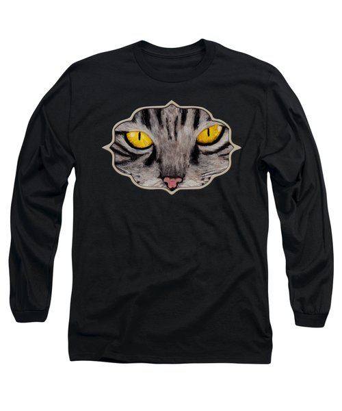 In Cat's Eyes Long Sleeve T-Shirt