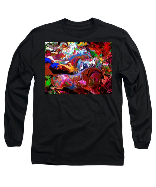 In Dreams Long Sleeve T-Shirt by Loxi Sibley
