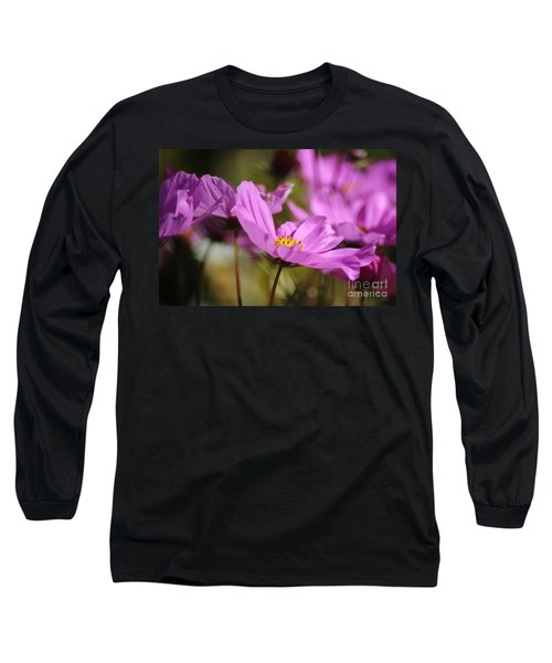 In Full Bloom Long Sleeve T-Shirt by Sheila Ping