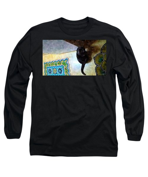 In Or Out  Long Sleeve T-Shirt by Karl Reid
