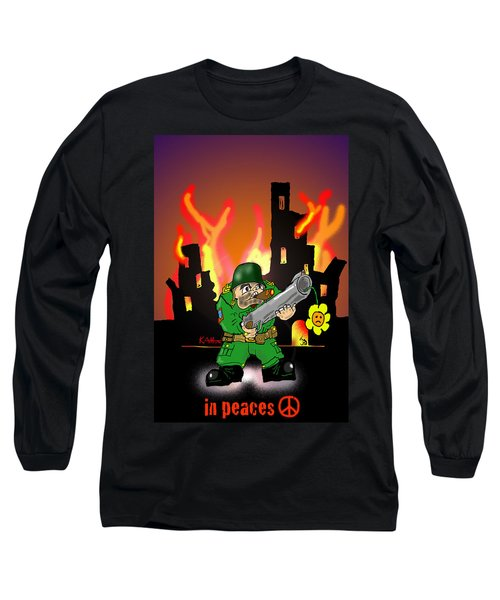 In Peaces Long Sleeve T-Shirt