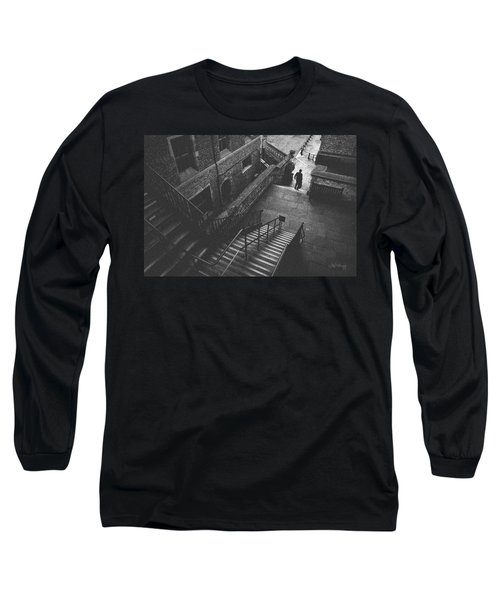 In Pursuit Of The Devil On The Stairs Long Sleeve T-Shirt