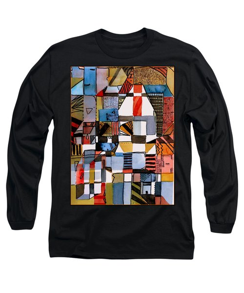 In The Dog House Long Sleeve T-Shirt by Mindy Newman
