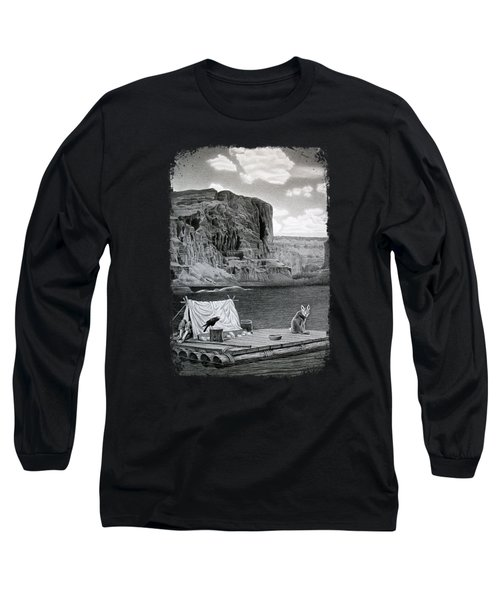 In The Grand Canyon Long Sleeve T-Shirt