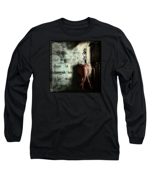 Long Sleeve T-Shirt featuring the digital art In The Night Nursery by Delight Worthyn