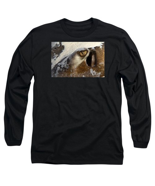 In The Sand Long Sleeve T-Shirt by Aaron Whittemore