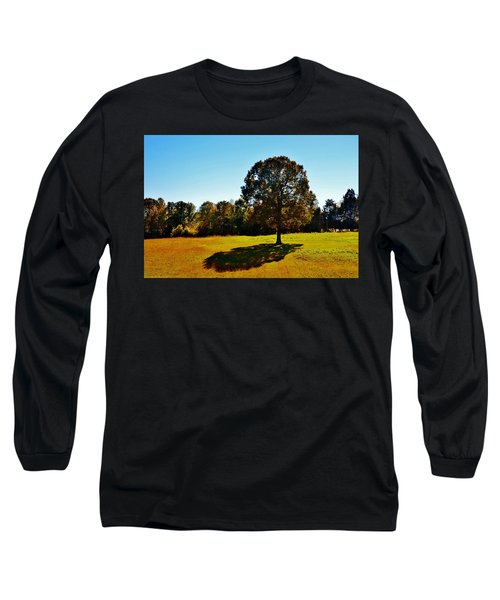 In The Shadow Of A Tree Long Sleeve T-Shirt