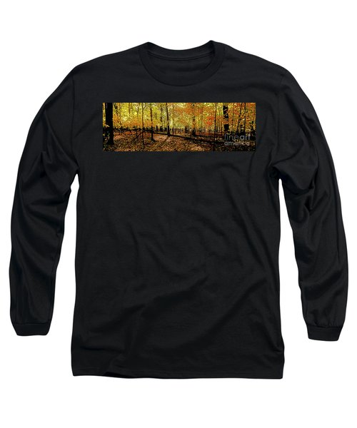 In The The Woods, Fall  Long Sleeve T-Shirt