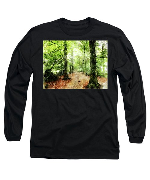 In The Wood Frame Long Sleeve T-Shirt