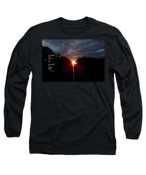 In Twilight Long Sleeve T-Shirt