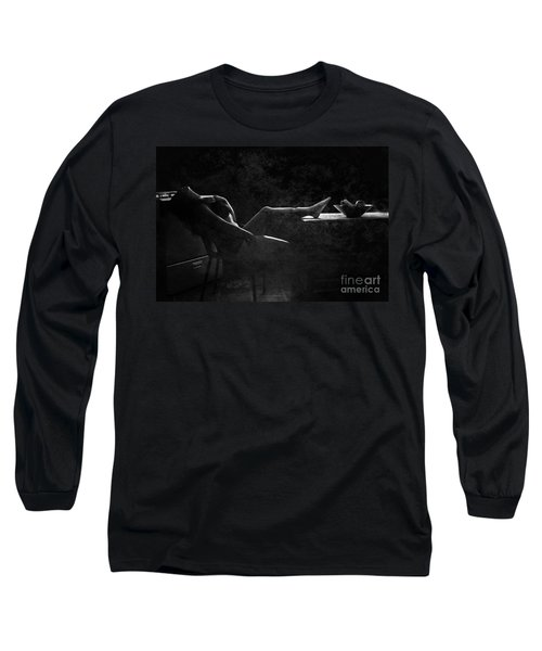 In Vain  Long Sleeve T-Shirt by Jessica Shelton