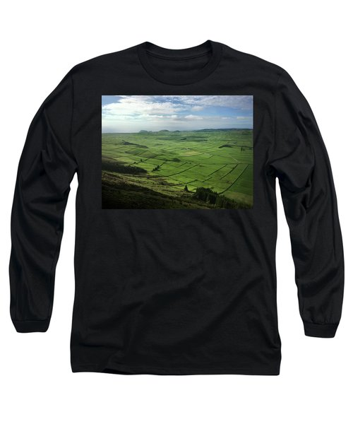 Incide The Bowl Terceira Island, Azores, Portugal Long Sleeve T-Shirt by Kelly Hazel