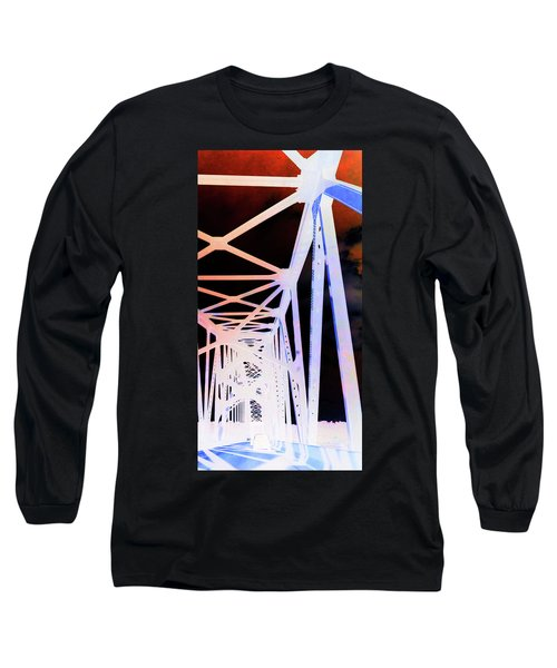 Long Sleeve T-Shirt featuring the photograph Indefinite Sight In by Jamie Lynn