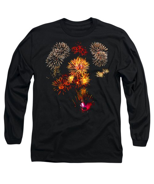 Independence Day Long Sleeve T-Shirt by Greg Norrell